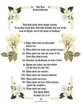 The Ten Commandments by Anne Norskog