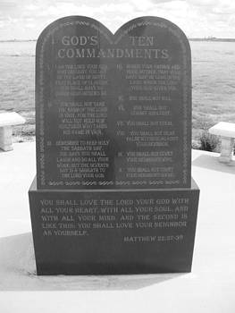 The Ten Commandments by Jeffrey Randolph