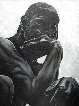 The Thinker by Aimee Vance