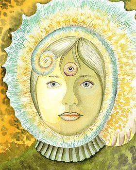 Irina Sztukowski - The Third Eye The Wise One Meditation Portrait