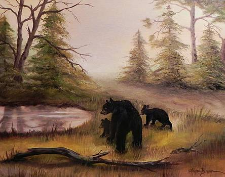 The three bears by Laura Brown