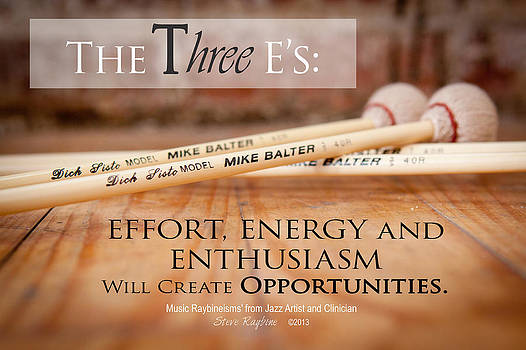 The Three E's by Steve  Raybine