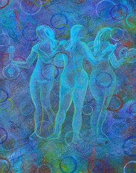 The Three Muses by The Art With A Heart By Charlotte Phillips