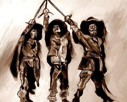 The Three Musketeers by Herbert Renard