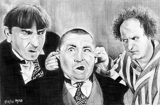 The Three Stooges by Mick ODay