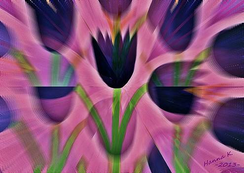 The Three Tulips by Hanna Khash