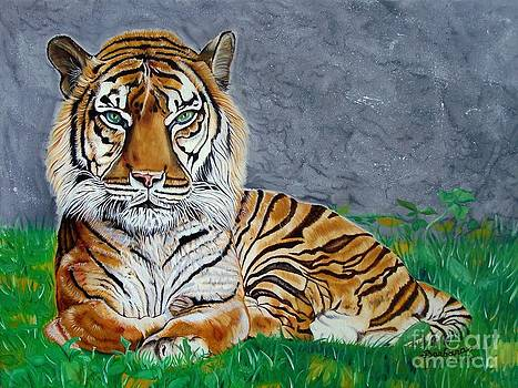 The Tiger by Barbara Pelizzoli