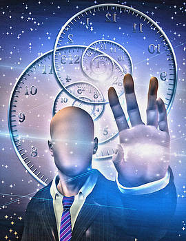 The time keeper by Bruce Rolff
