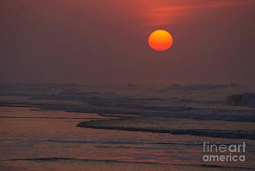 The Tranquil Sunrise by Adam Dowling