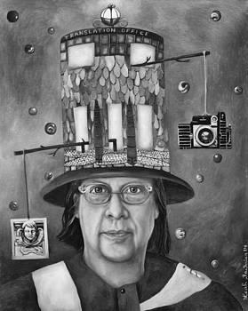 Leah Saulnier The Painting Maniac - The Translator bw