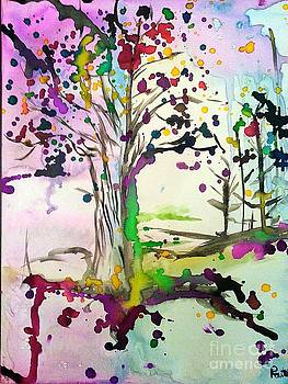 The Tree of a Colorful Life by Raitchele Cornett