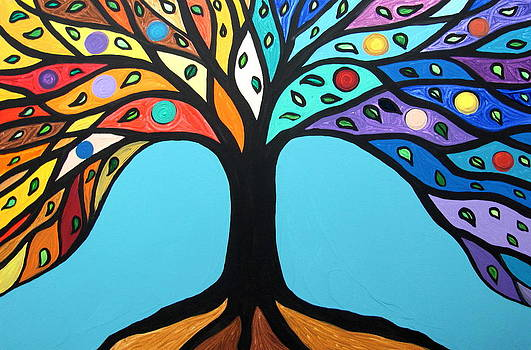 The tree of life by Mariana Stauffer