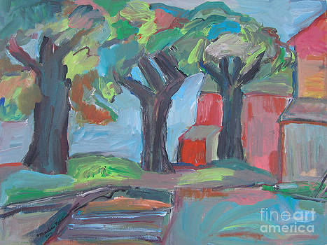 The Trees 2 by Marlene Robbins