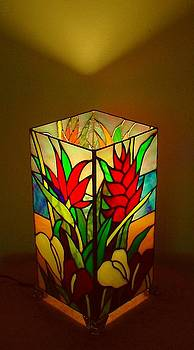 The Tropical Garden lamp by DK Nagano