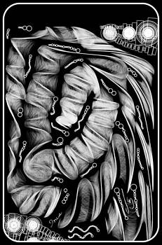 The Tube by Mona  Bernhardt-Lorinczi