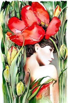 The Tulip by Anna Ewa Miarczynska