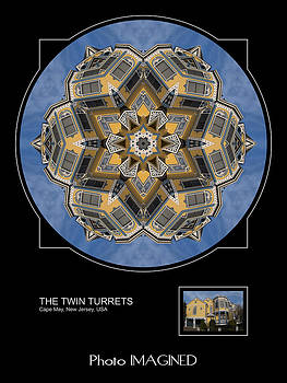 The Twin Turrets by Mike Johnson