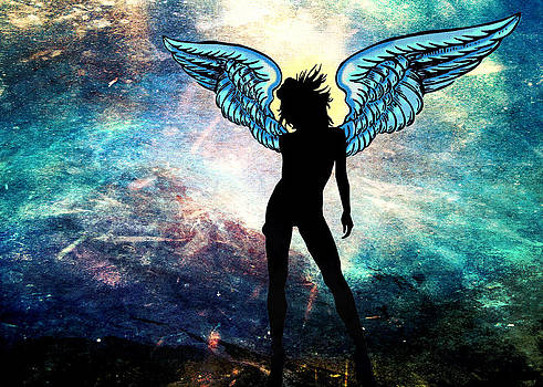 The Universe is my Angel by Denis Marsili
