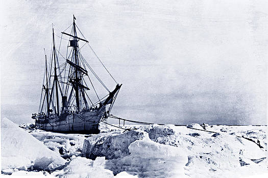 California Views Mr Pat Hathaway Archives - The USRC Bear caught in the ice at Cape Smyth Alaska June 1899