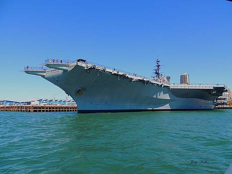 The USS Midway by Judy  Waller
