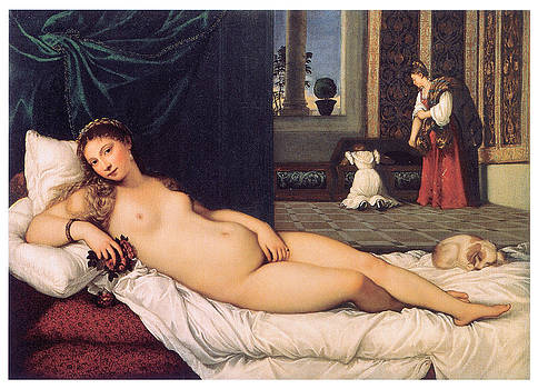 Titian - The Venus of Urbino