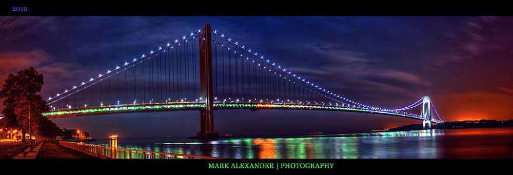 The Verrazano Narrows Bridge by Mark Alexander