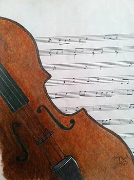 The violin by Tony Clark