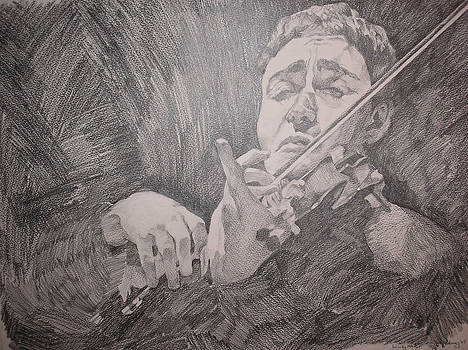 The Violinist by Wendy Head