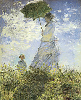 Claude Monet - The Walk Lady with a Parasol