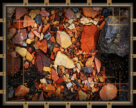 The Walk Through The Colored Stones by Andrew Sliwinski