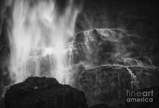 The Waterfall Rocks by Beth Riser