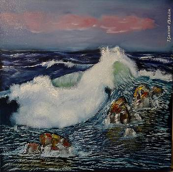 The wave by Juan Sandin