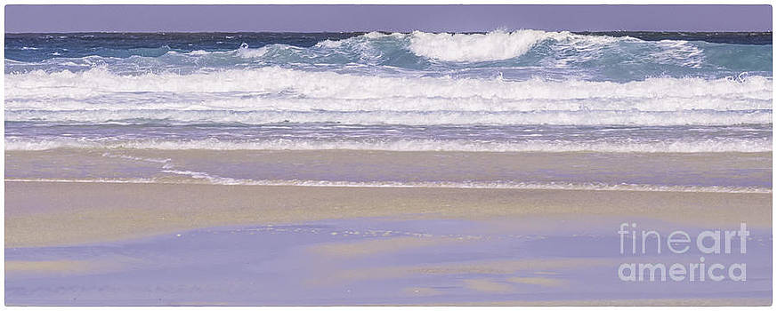 The Wave Luskentyre by George Hodlin