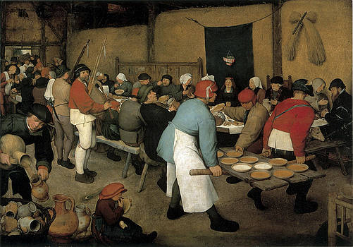 Pieter Bruegel the Elder - The Wedding Banquet