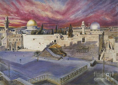 The Western Wall by Yael Avi-Yonah