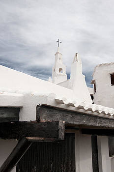 Pedro Cardona Llambias - Binibeca vell in Menorca is a small fishermen villa with the taste of past times - The white Chapel
