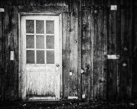 Lisa Russo - The White Door in Black and White