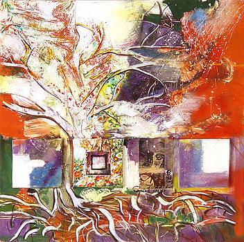The white tree by Otilia Gruneantu Scriuba