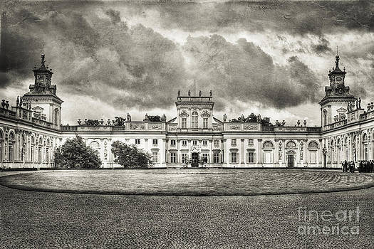 The Wilanow Palace by Izabela Kaminska