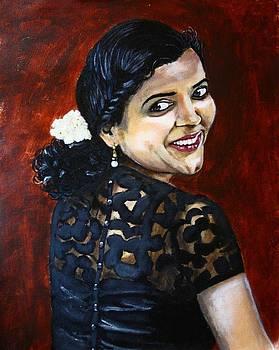The woman in the Mirror by Greeshma Manari
