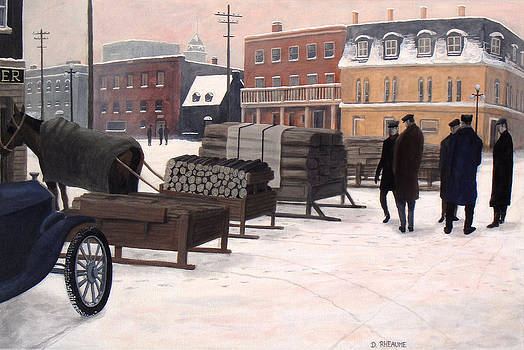 The Wood Market by Dave Rheaume