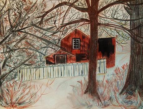The Woods are Lovely... by Deborah Gorga