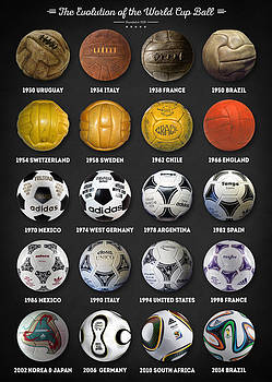 The World Cup Balls by Taylan Apukovska