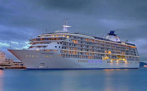 The World by Ships in Split