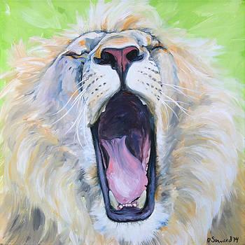 The Yawn Lion by Sarah Soward