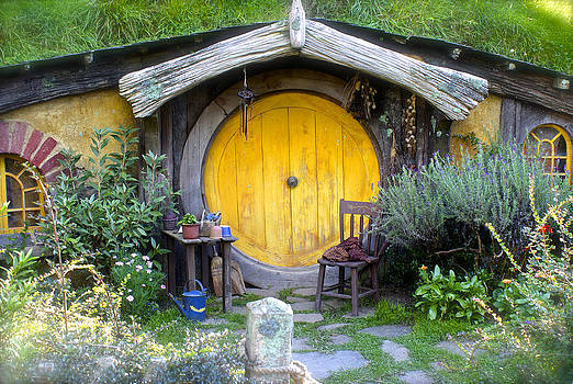 Venetia Featherstone-Witty -  Yellow Hobbit Door