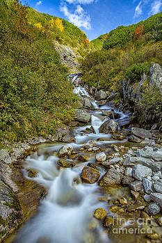 The Zillergruendl near Mayrhofen by Bernd Laeschke