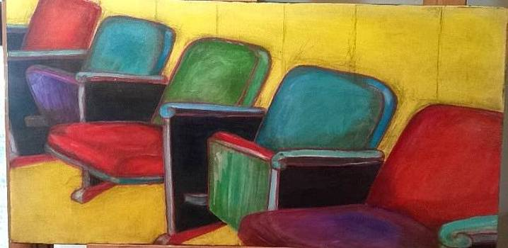 Theater Seats by Barbara  Rhodes