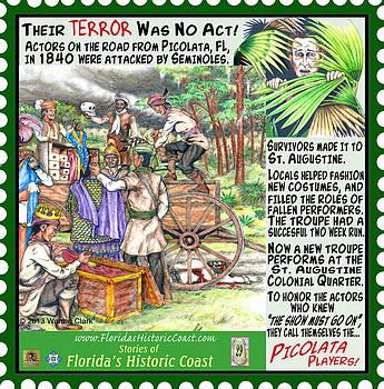 Their Terror Was No Act by Warren Clark