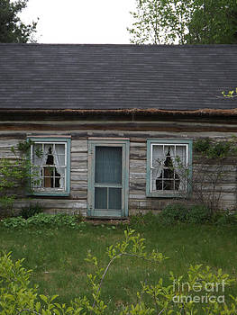 There once was a house with a family by Brenda Brown